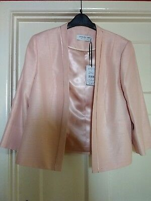 Mother of the Bride Size 16 Jaques Vert Coral Pink Jacket Ascot Garden Party