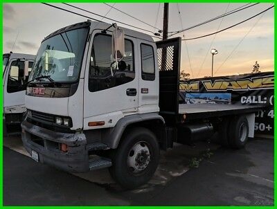 2002 GMC T6500 zstake zspec 18ft zdiesel Used