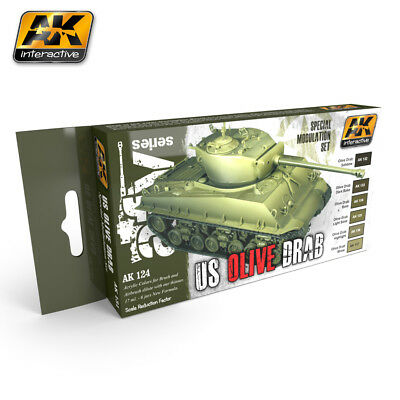 Ak Modulation Set Olive Drab Modulation Set