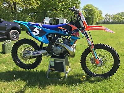 2017 KTM 250 sx. Less than 3 hours from new. Mint!