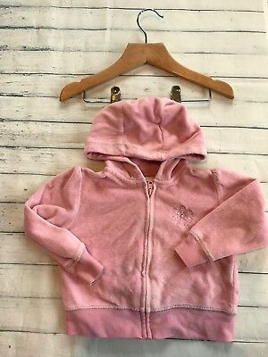 Next Baby Girls Hoodie 6-9 Months Girls' Clothing (0-24 Months)