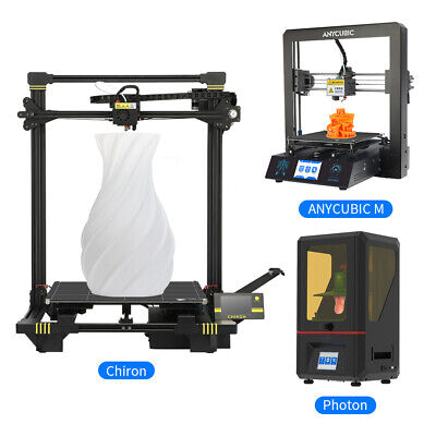 Anycubic 3D Printer Kit Chiron/Photon/Mega/Kossel Large Size High Precision US