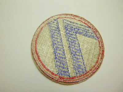 A   WW 2 U S Army 71st Division   Cut Edge White Back Patch