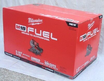 MILWAUKEE 2734-21HD M18 FUEL New Dual Bevel Sliding Compound Miter Saw Kit