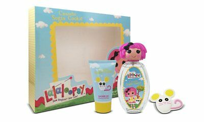 Lalaloopsy Crumbs Sugar/Cookie Cute Coffret Eau De Toilette Spray Trio Gift Set