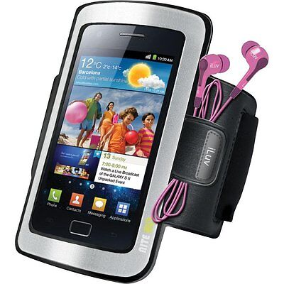 iLuv Sport Armband Case for Most Phones iPhone 4, 5 and Samsung S5, S6
