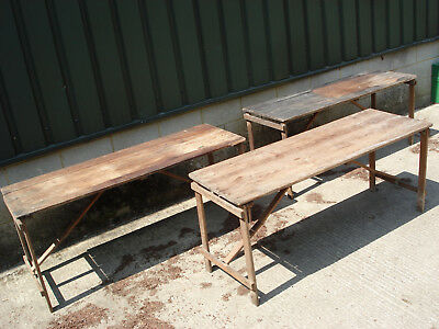 Vintage trestle table - Antique fairs
