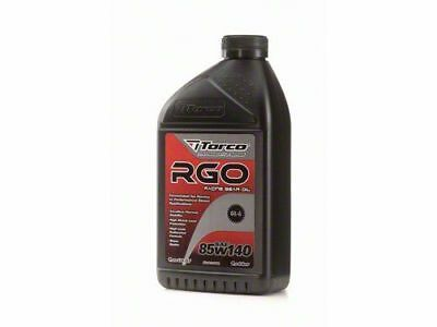 Torco RGO Racing Gear Oil 85w140 1Liter Bottle