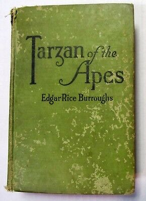 Tarzan of the Apes A.L. Burt 1915 edition - SIGNED by Edgar Rice Burroughs RARE!
