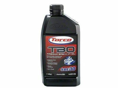 Torco TBO Premium BreakIn Oil SAE 30 1Liter Bottle