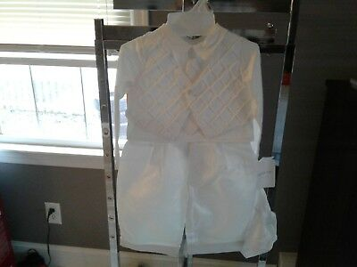 infant boy christening outfit
