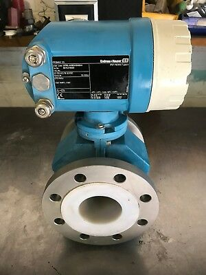 endress and hauser Promag 53 electromagnetic flow metre