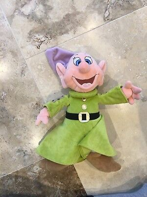 Disney Store Snow White And The Seven Dwarfs Dopey Soft Toy