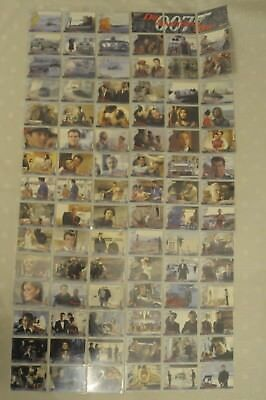 James Bond Die Another Day Complete Trading Card Set 1-90 Rittenhouse 2002