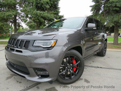 Jeep Grand Cherokee SRT 4x4 RT 4x4 4 dr SUV Automatic Gasoline 6.4L 8 Cyl  Granite Crystal Metallic Clearco