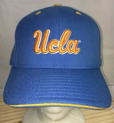 best cheap b8b4a 7c72d UCLA Bruins New Era Script 59Fifty Fitted Hat - Sky Blue and Gold Size 7