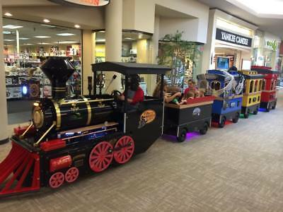 Trackless Mall Train Ride Business, Electrical Mall Train, True American Classic