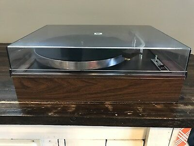 VINTAGE AR ACOUSTIC Research XB Turntable Record Player With Shure Head  Retro