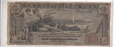 1896 $1.00 Historical 'EDUCATIONAL' Silver Certificate