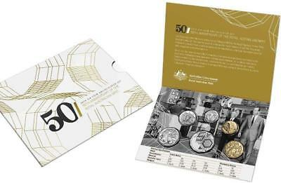 2015 6 Coin Uncirculated Ram Mint Set..special **50Th Anniversary Of Ram**.