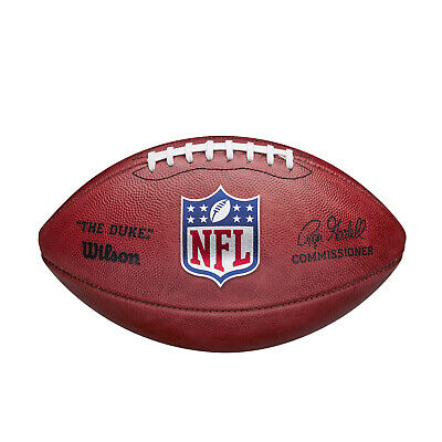 Wilson NFL The Duke Grid Iron Ball