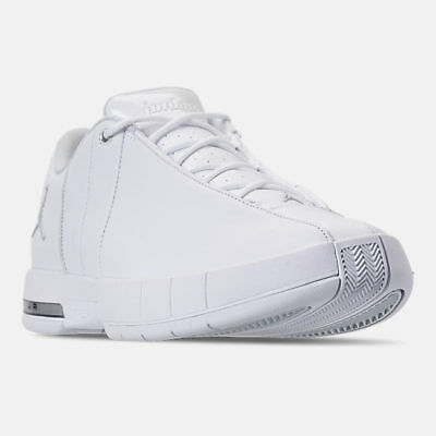 2228eb56b3c4 AO1696-100 Jordan Team Elite 2 Low Off Court Shoes White Platinum Sizes 8