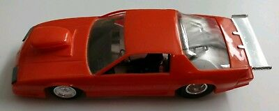 1992 Chevy Camaro Z28 1:25 Scale Plastic AMT Model Kit Pro Street Hugger Orange