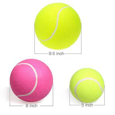Large Giant Pet Dog Puppy Tennis Ball Thrower Chucker Launcher Play Toy W4O0