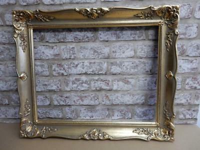 """vintage old picture frame fits a 18 inch X 14 """" painting"""