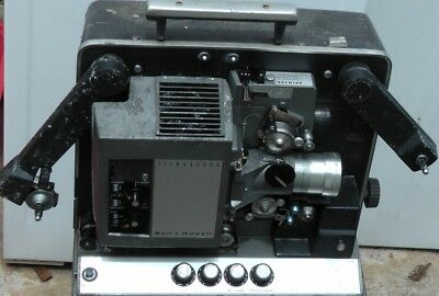 VINTAGE Cinema film projector made in USA Bell & Howell 16 mm model 642