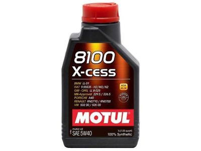 Motul 8100 5W40 XCESS  1L 105 qt Synthetic Oil