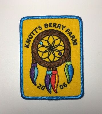 "Knotts Berry Farm 2006 Theme Park Rollercoaster Approx 3"" X 4"" Patch"