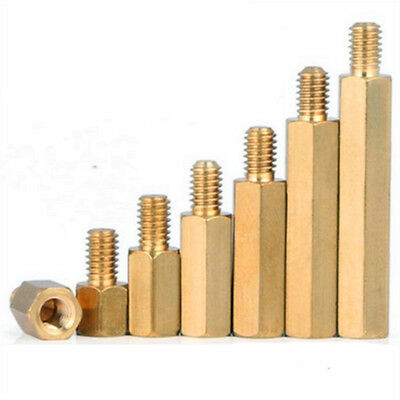 M4 Brass Male-Female Hex Column Standoff Support Spacer PCB Board Pillar Isolate