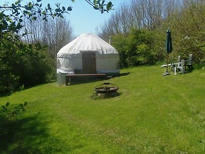 Amazing Yurt Holidays in beautiful South East Cornwall