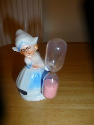 Vintage Dutch Girl Egg Timer