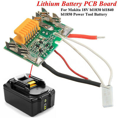 18V 3A Lithium Battery PCB Chip CCL Board for Makita BL1830 1840 1850 LXT400 fa