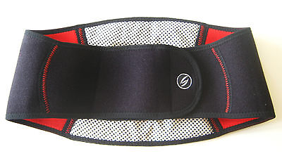 Tourmaline Self-Heat Neoprene Back Support Strap Belt Pain Relief Lumbar
