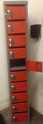 post mail  security valuables locker 10 door all with keys