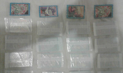 Space Oddbodz cards in Initial packing