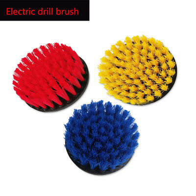 110mm Power Scrub Drill Brush For Cleaning Carpet Sofa Wooden Furniture New