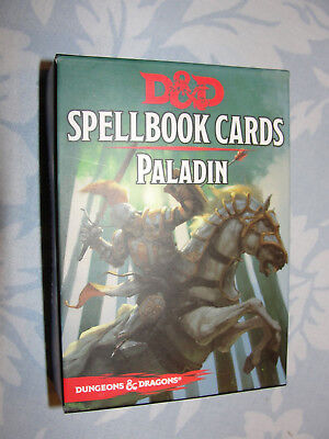 Spellbook-Cards-Deck Dungeons und Dragons, Paladin  (24 Cards)  NEU