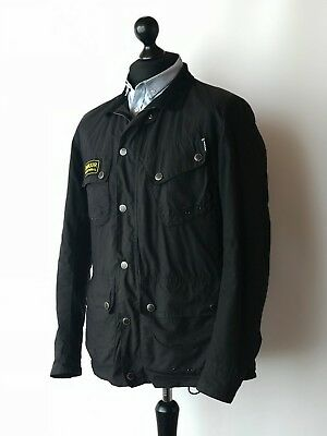 Barbour International Wax Jacket Bracken Size M