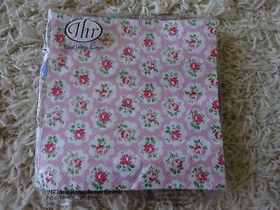 Cath Kidston Serviettes Provence Rose Open pack of 19