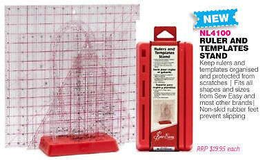 Sew Easy Rulers and Templates Stand NL4100, Keep Quilt Rulers Tidy