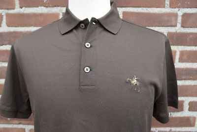 01e47daa RALPH LAUREN PURPLE Label Mens Cotton Knit Pocket Italy Button Polo ...