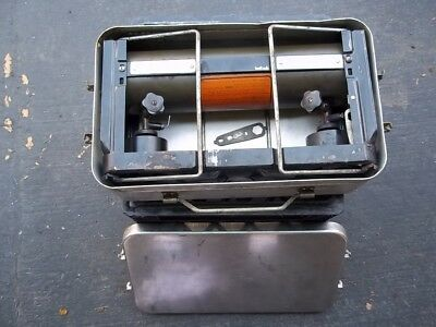 1945 Rare Authentic World War II U.S Army Field Camp Stove, 2 Burner, Excellent!