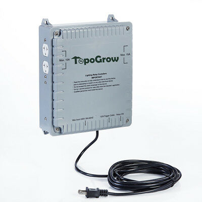 4x1000W Lighting Relay Controller Maximum for Indoor Plant Growing Hydroponics