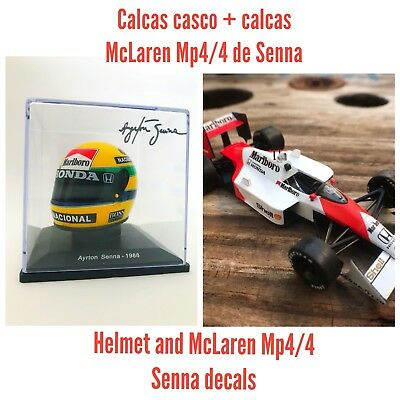 Pack Calcas Casco + Calcas McLaren Mp4/4 Senna