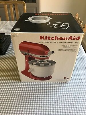 New KitchenAid Ice cream maker 5KICA0WH RRP £117.51