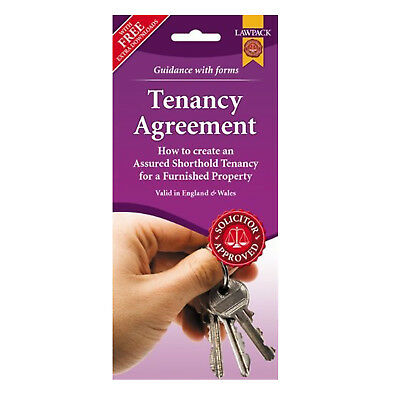 LawPack Furnished Tenancy Agreement Form England And Wales